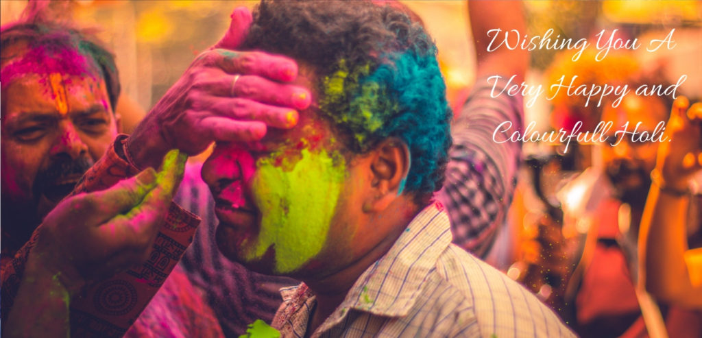 Happy Holi Status in Hindi & English 2019 - Images, GIFs, Stickers