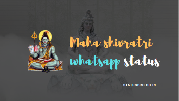 Maha Shivratri Whatsapp Status in Hindi